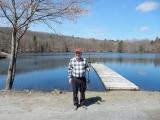 <h5>Joe Valastro - fishing rod winner at Trout Shootout Raffle</h5>